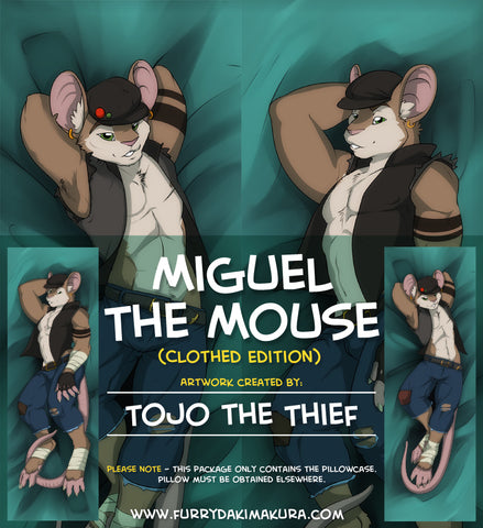 Miguel the Mouse Dakimakura