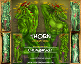 Thorn the Dragon by ChumBasket