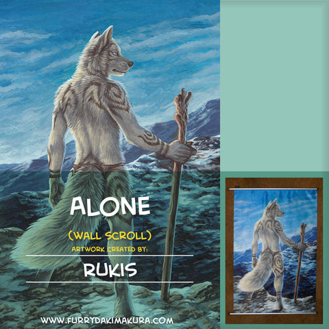 Alone Wall Scroll by Rukis