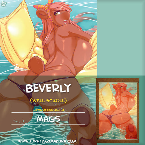 Beverly Wall Scroll by Mags
