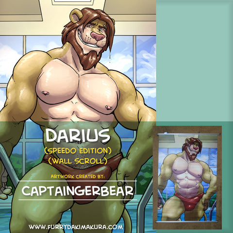 Darius Wallscroll by CaptainGerBear