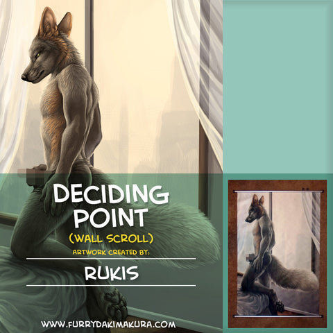 Deciding Point Wall Scroll by Rukis