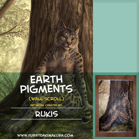 Earth Pigments Wall Scroll by Rukis