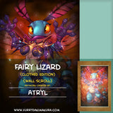 Fairy Lizard Wall Scroll by Atryl