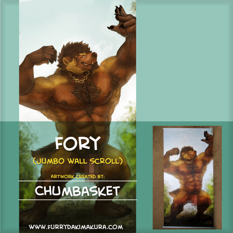 Fory JUMBO Wall Scroll by Chumbasket