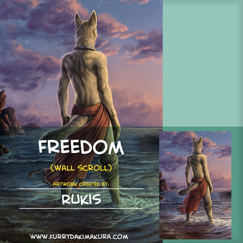 Freedom Wall Scroll by Rukis