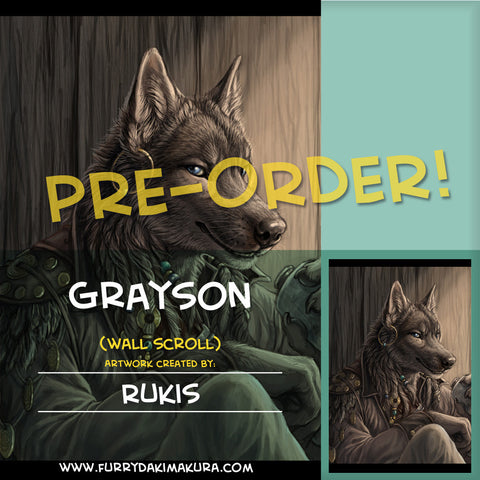 Grayson Reed Wall Scroll by Rukis