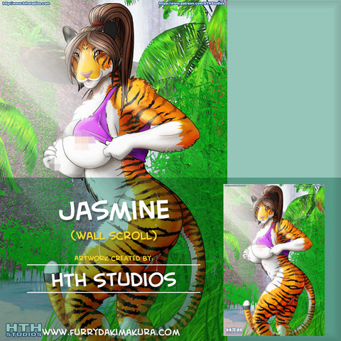 Jasmine Wall Scroll by HTH Studios