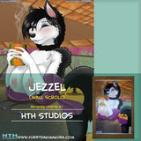 Jezzel Wall Scroll by HTH Studios