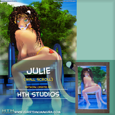 Julie Wall Scroll by HTH Studios
