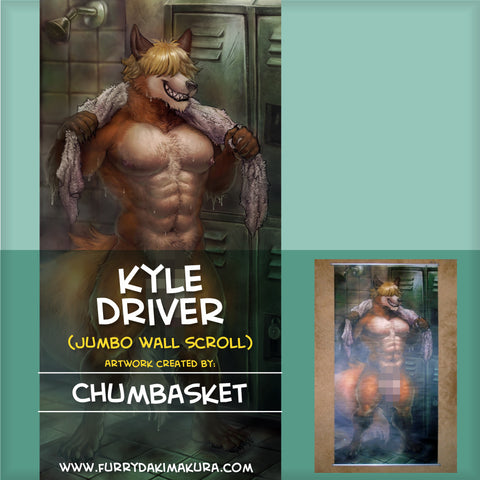 Kyle Driver JUMBO Wall Scroll by Chumbasket