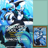 Penelope's Pool Toy by Rainbowscreen