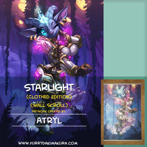 Starlight Wall Scroll by Atryl