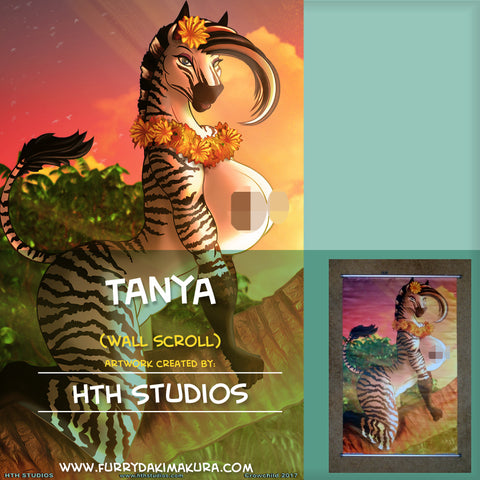 Tanya Wall Scroll by HTH Studios