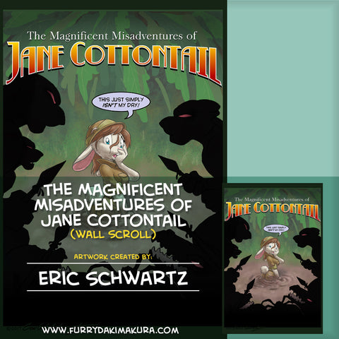 The Magnificent Misadventures of Jane Cottontail by Eric Schwartz