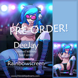 DeeJay Wall Scroll by Rainbowscreen