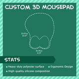 Custom 3D Mousepad