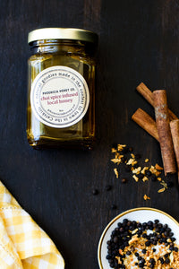 Chai Spice Infused Raw Local Honey