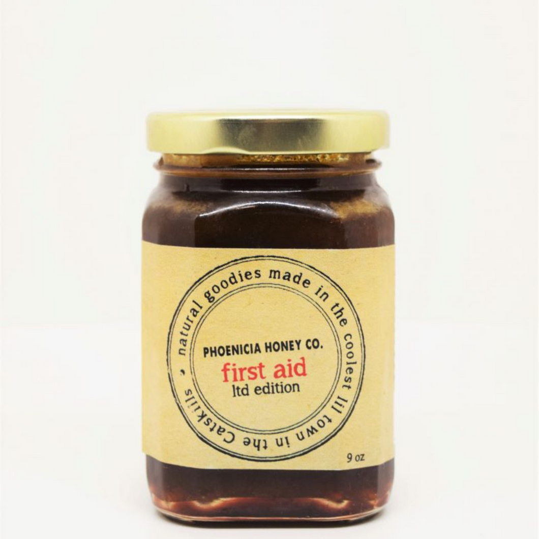 First Aid Ltd Edition Infused Raw Local Honey