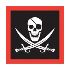 Pirate Flag Cocktail Drink Napkins