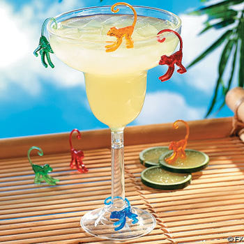 Plastic Cocktail Drink Monkey Markers