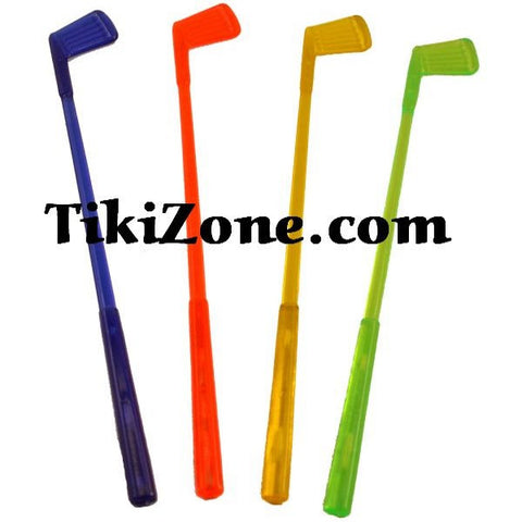 16 Golf Club Swizzle Stir Sticks
