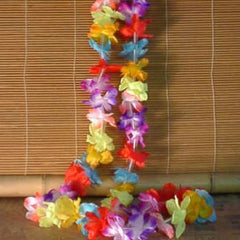 12 Pack of Small Flower Leis
