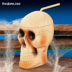 12 Skull Drinkin' Mugs - Pirate Grog a plenty!