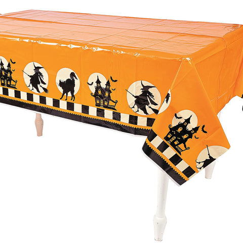 Frightening Halloween Party Table Cover
