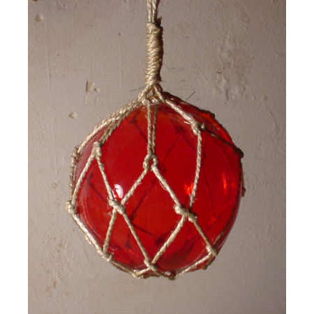 Glass Nautical Decor Fishing Float