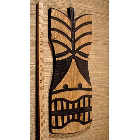Kaloonga the Carved Wood Wall Tiki