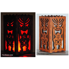 Tiki Bar Table Top Light Box