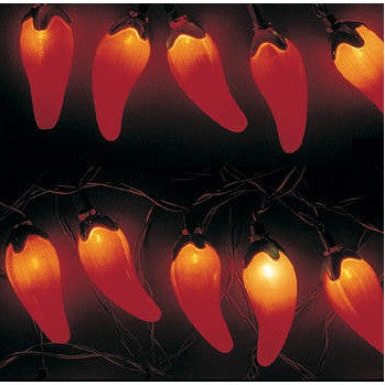 Red HOT Chili Pepper Fiesta Lights