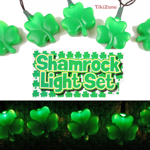 Lucky Irish Light String - Shamrocks for St Pats!
