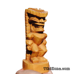 Small Carved wood Tiki Tiki Totem