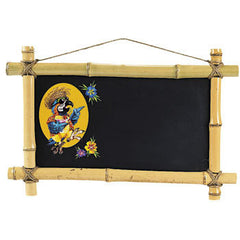 Bamboo Tiki Bar Chalkboard Menu Board
