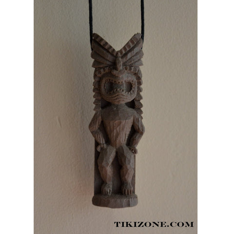 Lucky Tiki of Wealth Necklace