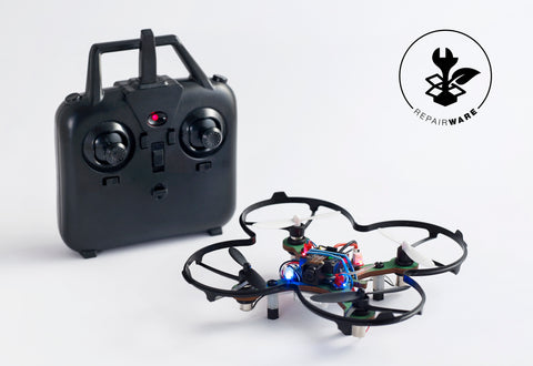 Kolibri drone building kit with camera