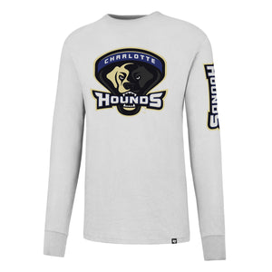 Charlotte Hounds White Wash Crosstown Long Sleeve Shirt