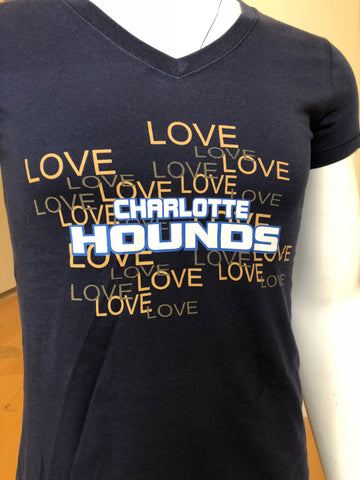 """Love Charlotte Hounds"" Women's T-Shirt"