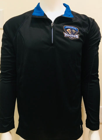 Charlotte Hounds Quarter-Zip Pullover