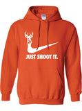 Just Shoot It Hoodie ML-169