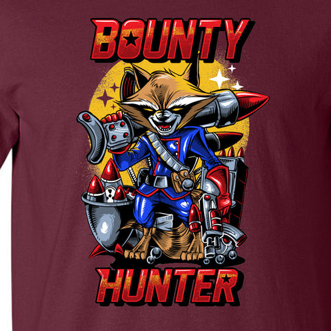 Rocket the Bounty Hunter T-shirt MLG-1117