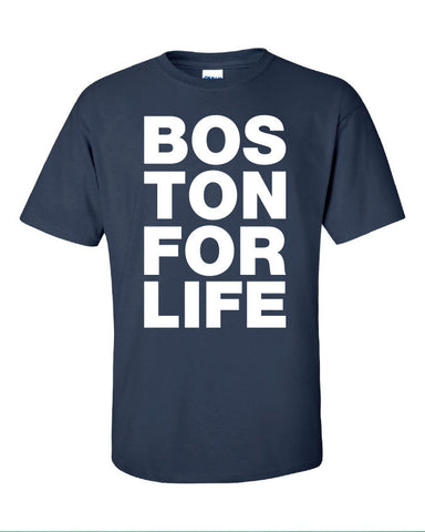 Boston for life bosox red sox red sox world series represent pride Printed graphic T-Shirt Tee Shirt Mens Ladies Womens Youth Kids ML-091