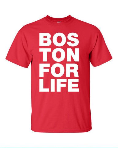 Boston for life bosox red sox red sox world series represent pride Printed graphic T-Shirt Tee Shirt Mens Ladies Womens Youth Kids ML-091R