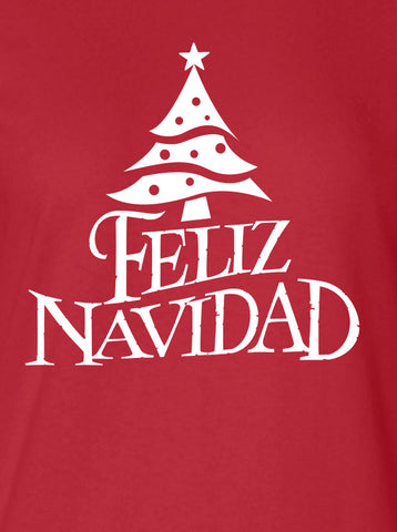 Feliz Navidad Merry Christmas Xmas happy holidays mexico US USA Canada Clothing tee Unisex Style Funny t-shirt x t shirt x christian ML-133