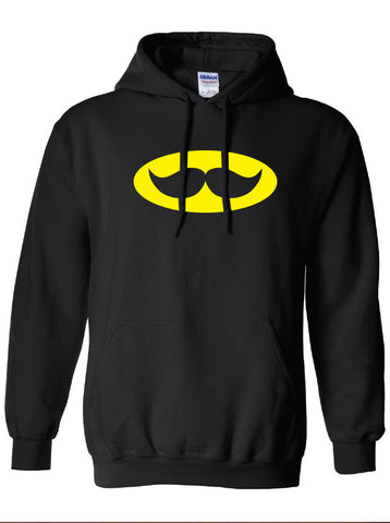 Stache signal moustache stachman Jumper Clothing bruce comic book Unisex Style Funny hoodie hooded sweater comic book ML-138