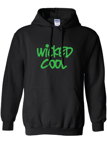 Boston southie wicked cool tv irish hoodie ML-182H