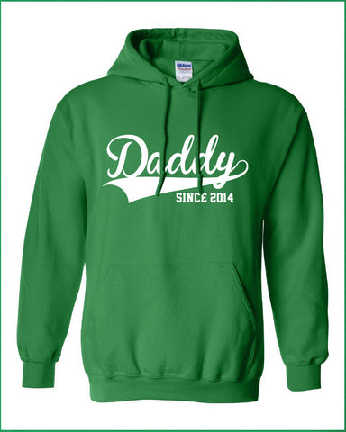 Daddy since 2014 (or any year) hoodie ML-209
