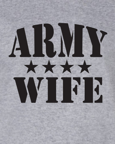 Army Wife t-shirt ML-243b
